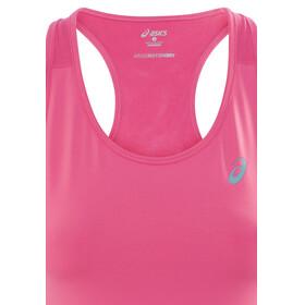 asics Racerback Koszulka do biegania bez rękawów Kobiety różowy